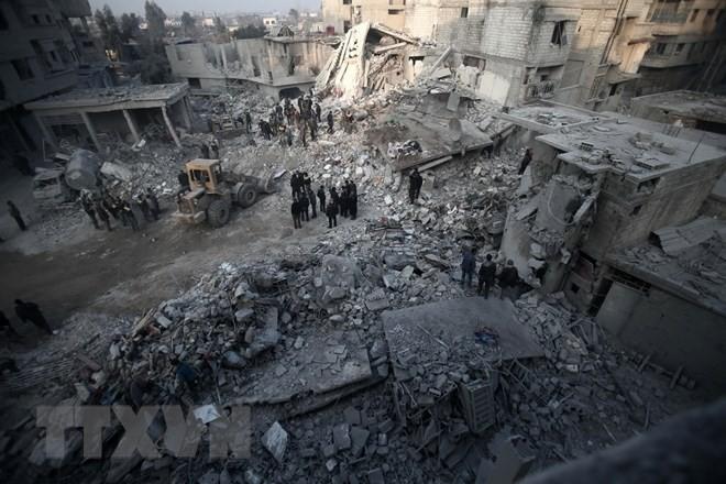អង្គការសហប្រជាជាតិមានផែនការបញ្ជូនទំនិញជំនួយមនុស្សធម៌ទៅកាន់ Ghouta ប៉ែកខាងកើតនាសប្តាហ៍ខាងមុខ - ảnh 1