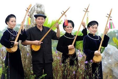 ចាប៉ី Tinh - ឧបករណ៍តន្រ្តីប្រពៃណីរបស់ជនរួមជាតិ Tay នៅខេត្ត Quang Ninh - ảnh 1