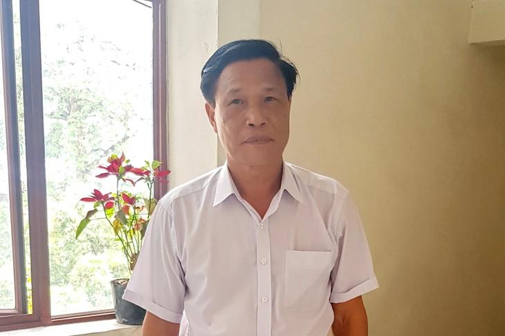 លោក Tran Quang Huy - កម្មាភិបាលភូមិគំរូមួយរូប - ảnh 1