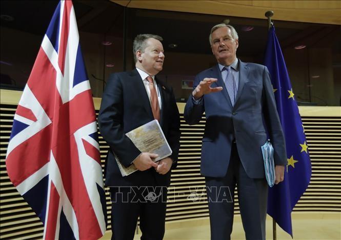 EU ព្រមានថា កិច្ចព្រមព្រៀងពាណិជ្ជកម្មក្រោយ Brexit គឺពិបាកទទួលបាន - ảnh 1