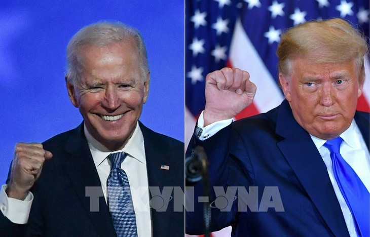 លោក J. Biden បន្តនាំមុខប្រធានាធិបតី លោក D. Trump ក្នុងសម្លេងគាំទ្រចំនួន ៣,៨ លានសម្លែង - ảnh 1