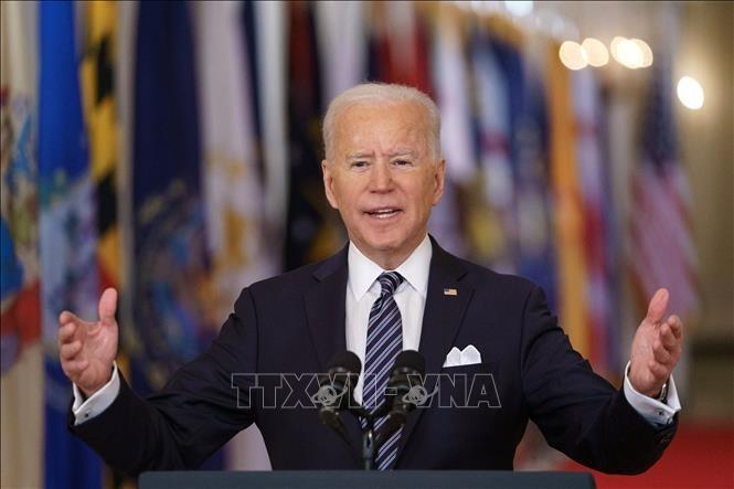 ប្រធានាធិបតីអាមេរិកលោក Joe Biden ចូលរួមកិច្ចប្រជុំកំពូលសហភាពអឺរ៉ុប - ảnh 1