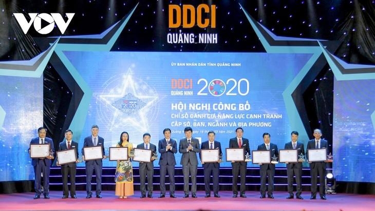 ខេត្ត Quang Ninh នៅតែជាប់កំពូល ក្នុងតារាងរៀប ចំណាត់ថ្នាក់ PCI - ảnh 2