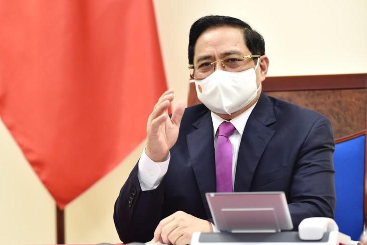 """នាយករដ្ឋមន្រ្តីវៀតណាម លោក Pham Minh Chinh អញ្ជើញចូលរួម និងថ្លែងសុន្ទរកថានៅសន្និសីទស្តីពី """" អនាគតរបស់អាស៊ី"""" - ảnh 1"""