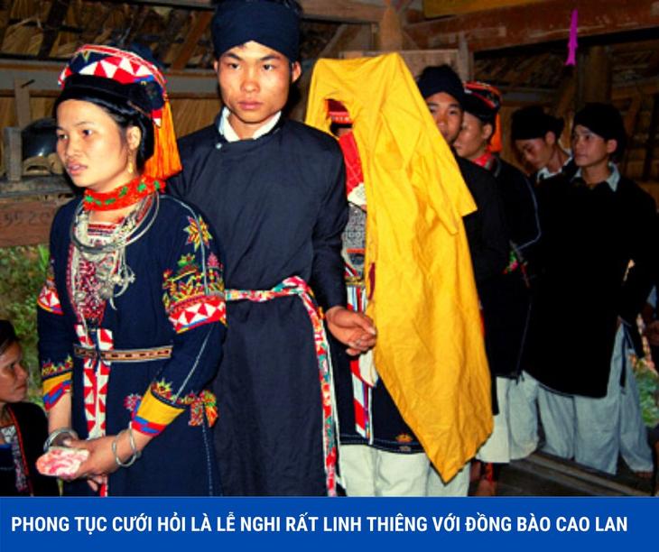 ទំនៀមទំលាប់រៀបអាពាហ៍ពិពាហ៍ដ៏វិសេសវិសាលរបស់ជនជាតិ Cao Lan នៅ ខេត្ត Quang Ninh - ảnh 1