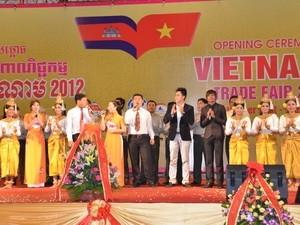 Khai mạc Hội chợ Thương mại quốc tế Việt Nam-Campuchia 2012 - ảnh 1