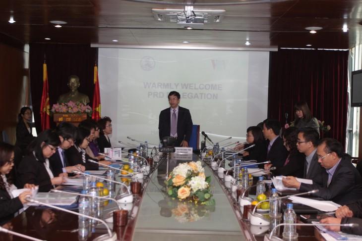Tăng cường hợp tác giữa Đài TNVN và Ủy ban Quan hệ Công chúng Thái Lan  - ảnh 1