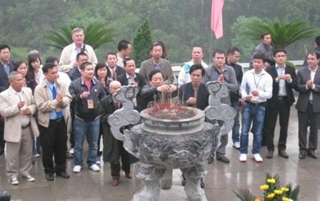Đoàn kiều bào về với di tích lịch sử Pác Bó, Cao Bằng - ảnh 6