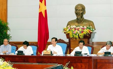 Thủ tướng Nguyễn Tấn Dũng làm việc với Hội Nhà báo Việt Nam - ảnh 1