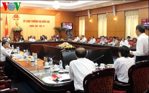Bế mạc phiên họp thứ 31 của Ủy ban Thường vụ Quốc hội - ảnh 1