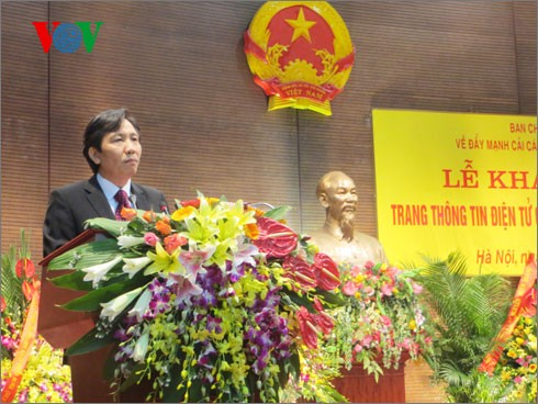 Xây dựng nền công vụ, công chức Việt Nam hiệu quả, chuyên nghiệp - ảnh 1