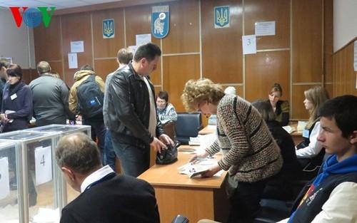 Tương lai chính trị Ukraine sau bầu cử quốc hội - ảnh 1