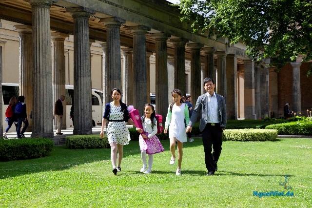Học sinh người Việt ở Đức tưng bừng khai trường và vào năm học mới  - ảnh 2