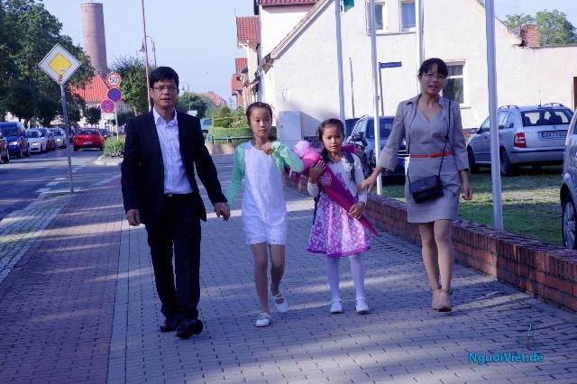 Học sinh người Việt ở Đức tưng bừng khai trường và vào năm học mới  - ảnh 1