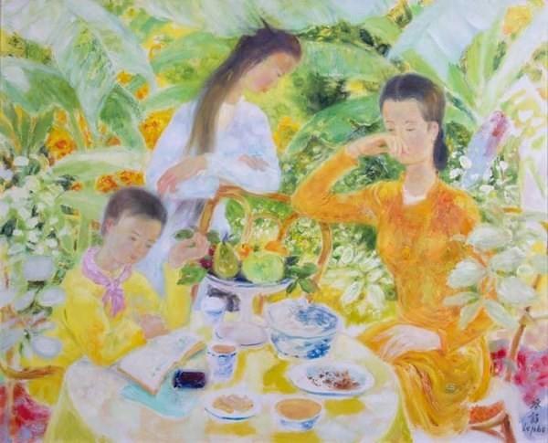 Giới thiệu 50 tác phẩm của các họa sĩ thời kì mỹ thuật Đông Dương - ảnh 1