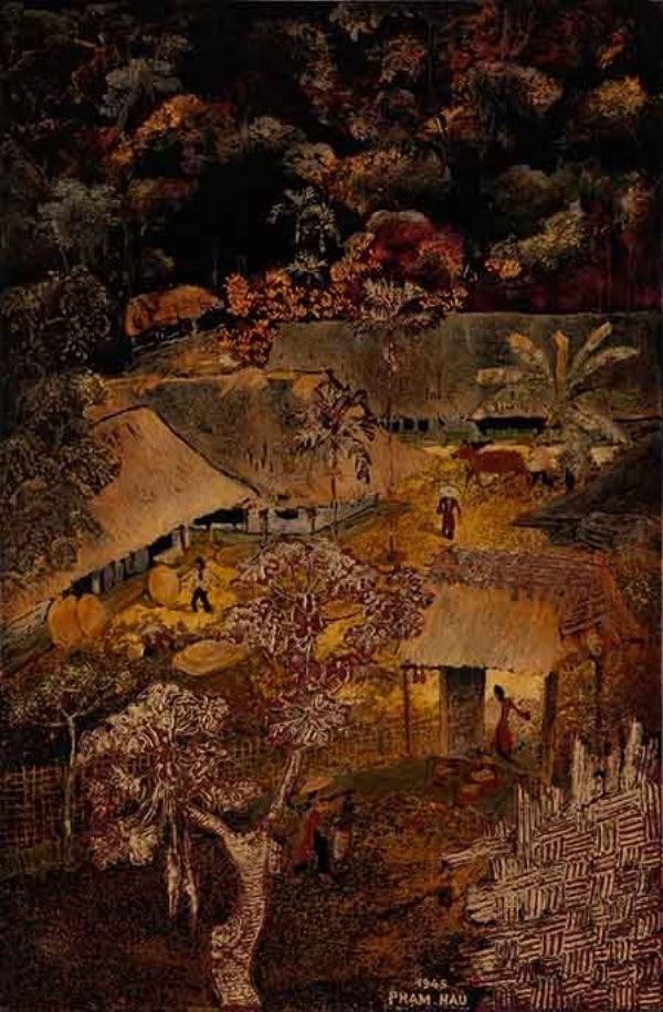 Giới thiệu 50 tác phẩm của các họa sĩ thời kì mỹ thuật Đông Dương - ảnh 2