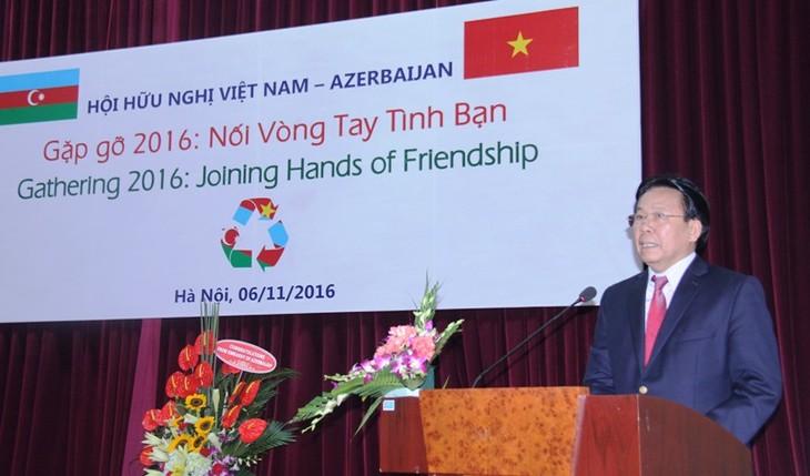 Gặp gỡ hữu nghị Việt Nam - Azerbaijan  - ảnh 1