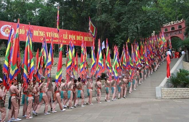 Tín ngưỡng thờ cúng Hùng Vương: sức mạnh gắn kết cộng đồng       - ảnh 1