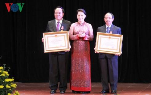 Trao tặng Huân chương của Chủ tịch nước Việt Nam cho các cá nhân nước Cộng hòa Dân chủ nhân dân Lào - ảnh 1