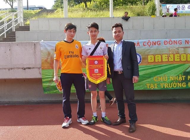 Sôi động giải bóng đá Daejeon Cup lần thứ nhất - ảnh 6