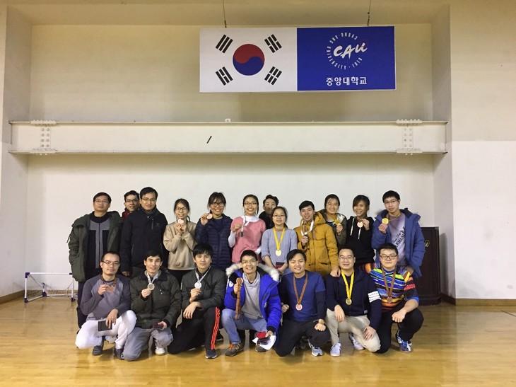 Hấp dẫn giải cầu lông Chung-Ang mở rộng năm 2017 - ảnh 3