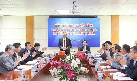 Phó Thủ tướng Thường trực Chính phủ Trương Hòa Bình làm việc với Cục Văn thư và Lưu trữ Nhà nước - ảnh 1