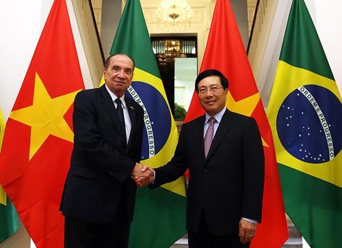 Bộ trưởng Ngoại giao Brazil Aloysio Nunes Ferreira thăm chính thức Việt Nam - ảnh 1