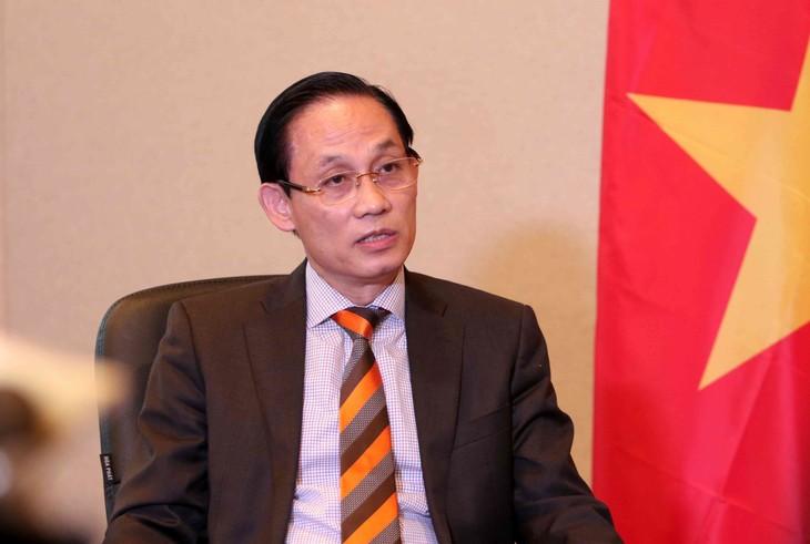 Thứ trưởng Bộ Ngoại giao Lê Hoài Trung: Việt Nam góp phần thúc đẩy hài hòa hóa pháp luật thương mại quốc tế - ảnh 1