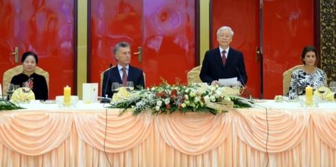 Việt Nam và Argentina tăng cường hợp tác hữu nghị - ảnh 1