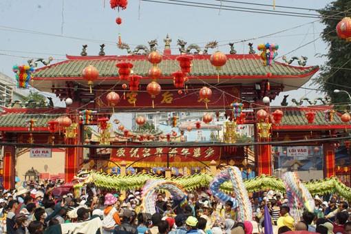 Lễ hội Rằm tháng Giêng tại Bình Dương - ảnh 1
