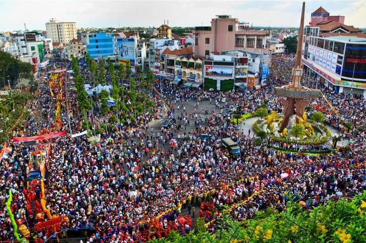 Lễ hội Rằm tháng Giêng tại Bình Dương - ảnh 2