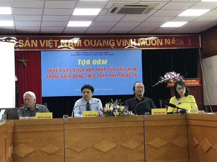 Tọa đàm quyền và lợi ích hợp pháp của Việt Nam ở Biển Đông theo luật pháp quốc tế - ảnh 1