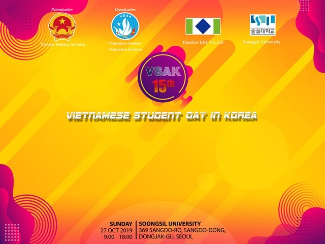 Hứa hẹn nhiều hoạt động hấp dẫn trong Ngày hội sinh viên Việt Nam tại Hàn Quốc 2019 - ảnh 1
