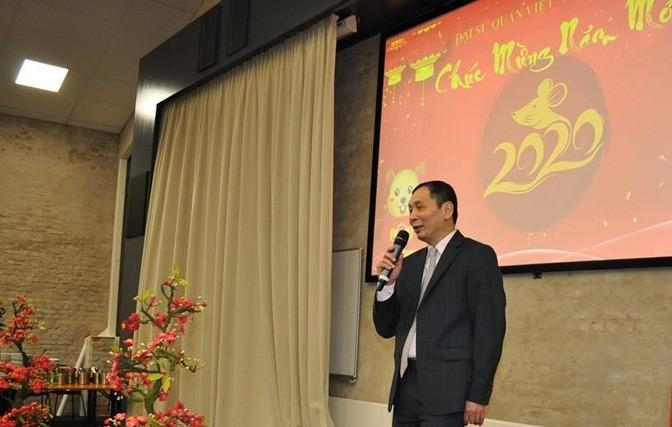 Đại sứ quán Việt Nam tại Na Uy tổ chức chào đón Xuân Canh Tý 2020 - ảnh 1