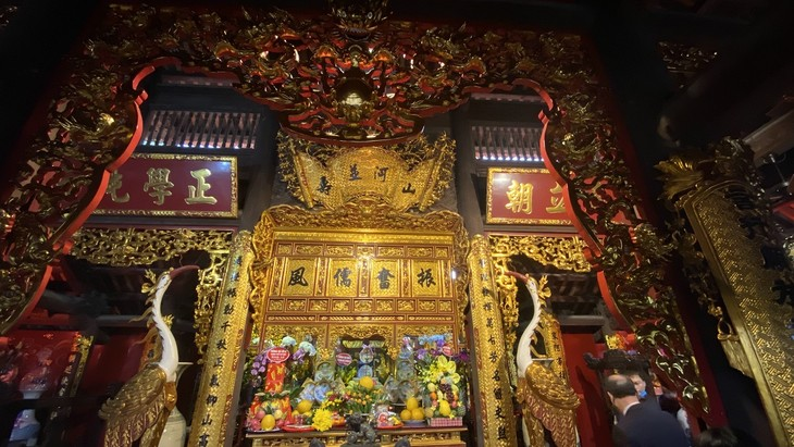 Đền thờ Chu Văn An với danh thơm Vạn thế sư biểu - ảnh 5