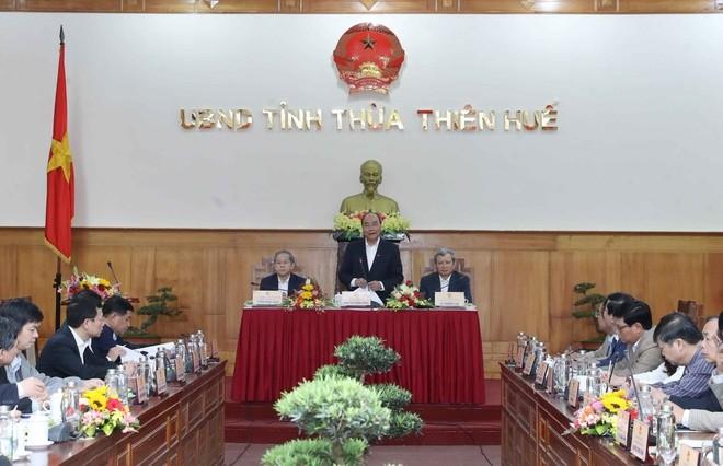 Thừa Thiên - Huế cần phát triển toàn diện, mạnh mẽ hơn trong thời gian tới - ảnh 1
