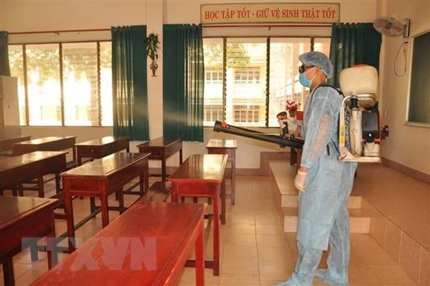 Tăng cường các biện pháp phòng, chống dịch bệnh COVID-19 (nCoV) khi học sinh, sinh viên đi học trở lại - ảnh 1