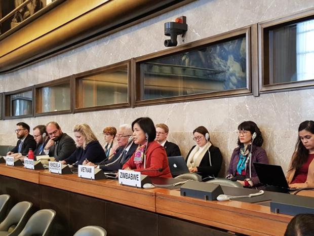 Việt Nam tham dự Hội nghị Giải trừ quân bị tại Geneva - ảnh 1