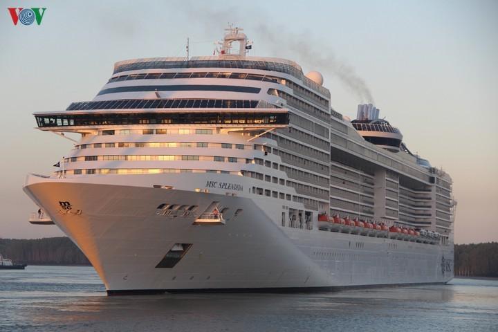 Bà Rịa-Vũng Tàu: Đón tàu du lịch 5 sao MSC Splendida - ảnh 1