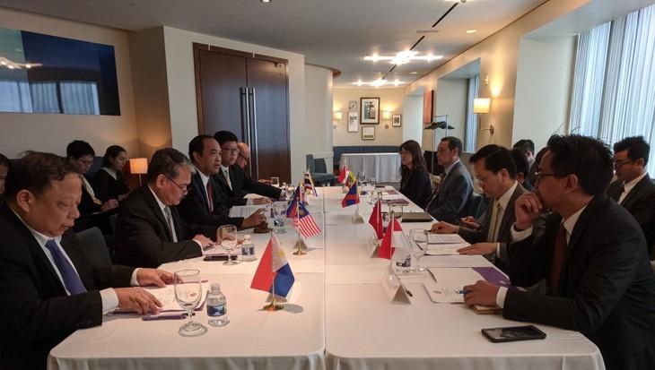 Đại sứ các nước ASEAN tại Mỹ đánh giá cao vai trò Chủ tịch ASEAN của Việt Nam trong nhiều lĩnh vực - ảnh 1