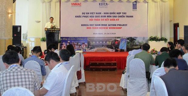 Việt Nam - Hàn Quốc hợp tác khắc phục hậu quả bom mìn sau chiến tranh - ảnh 1