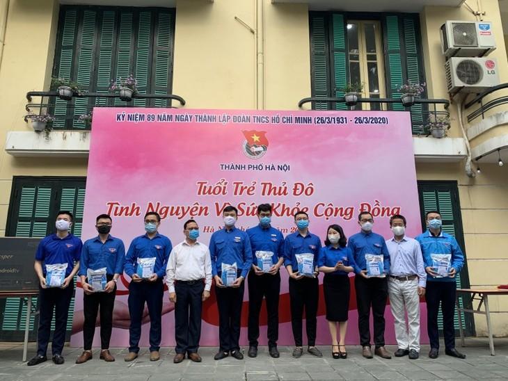 Tuổi trẻ Việt Nam chung tay phòng chống dịch Covid-19 - ảnh 1