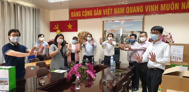 Hội chuyên gia, trí thức Việt Nam-Hàn Quốc hỗ trợ y, bác sĩ đẩy lùi đại dịch Covid-19 - ảnh 5