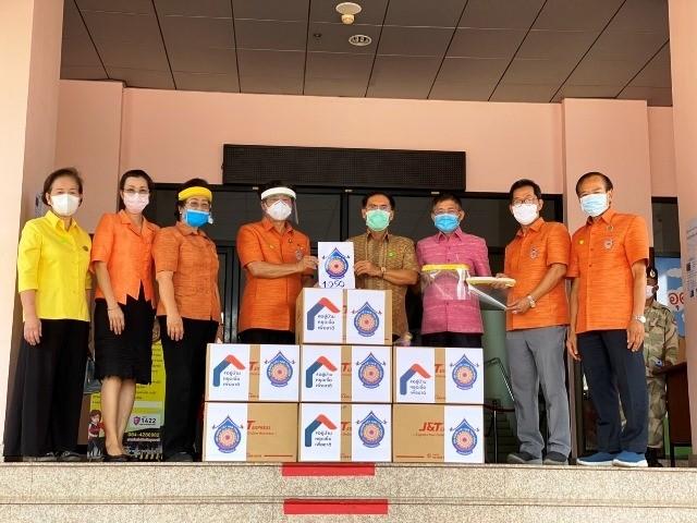 Kiều bào tại Udon Thani của Thái Lan hỗ trợ chính quyền tỉnh vật tư phòng chống dịch bệnh - ảnh 1