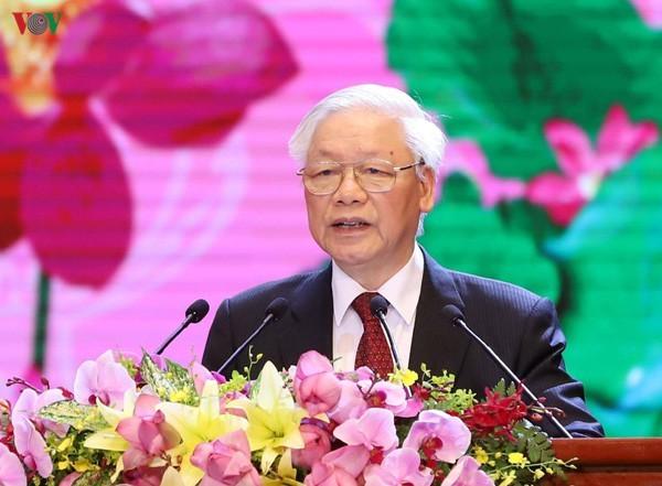 Lễ kỷ niệm trọng thể 130 năm ngày sinh Chủ tịch Hồ Chí Minh - ảnh 2