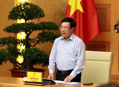 """Phó Thủ tướng Phạm Bình Minh: """"Ngoại giao trực tuyến"""" và """"ngoại giao COVID"""" đã được đẩy mạnh và phát huy hiệu quả - ảnh 1"""