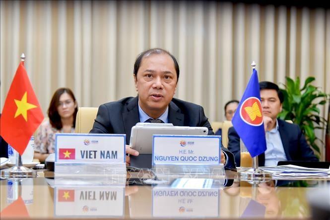 Đối thoại cấp cao trực tuyến về phục hồi ASEAN sau đại dịch Covid-19 - ảnh 1