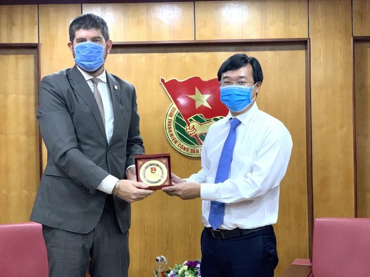 Tăng cường hợp tác giữa Trung ương Đoàn với cơ quan đại diện UNESCO tại Việt Nam - ảnh 1