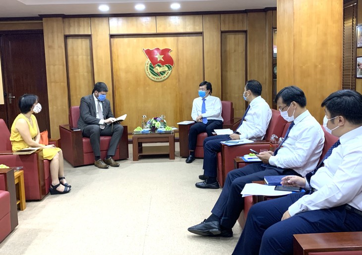 Tăng cường hợp tác giữa Trung ương Đoàn với cơ quan đại diện UNESCO tại Việt Nam - ảnh 2