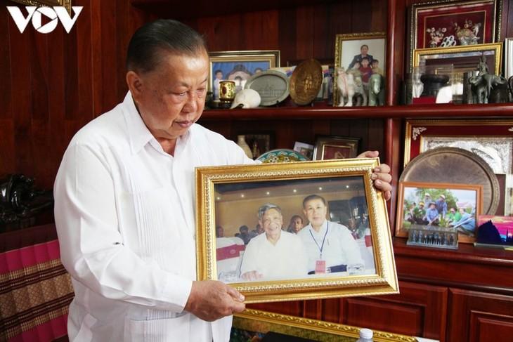 Nguyên Tổng Bí thư Lê Khả Phiêu qua lời kể của cựu đại sứ Lào tại Việt Nam - Vilayvanh Phomkhe - ảnh 1